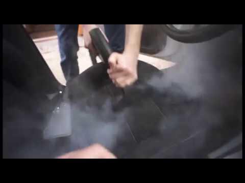 Химчистка сидений автомобиля своими руками видео