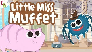 Little Miss Muffet Nursery Rhyme with Lyrics - Kids Songs and Children Rhymes by Cuddle Berries