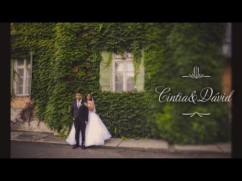 Cintia és Dávid esküvői fotózás