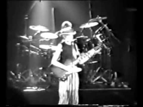 Johnny Winter whole concert 1991 September immense energy and speed