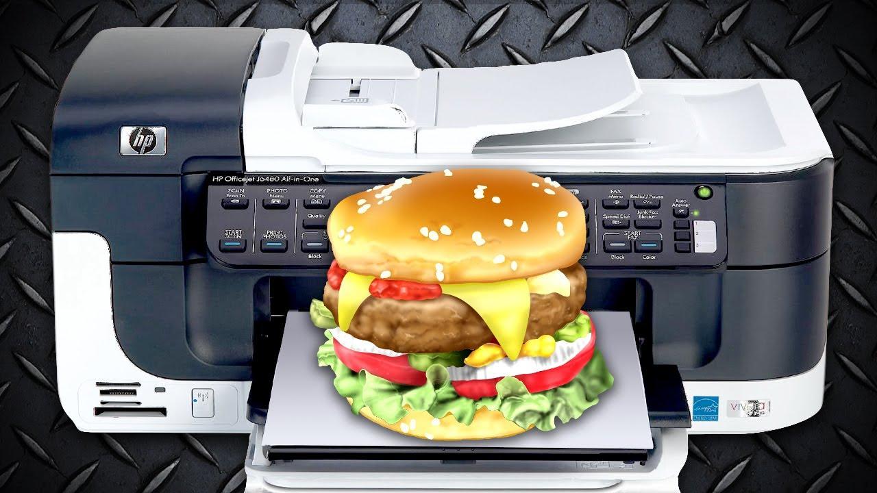 D Printer For Making Food
