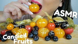 CANDIED FRUITS ASMR* Extreme Crunch Mukbang | N.E Let's Eat