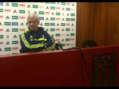 Mark Hughes on Stoke v Leicester, FA Cup, lack of keepers, Sexy Huth, transfers, injuries