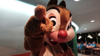A Trip To Disney's EPCOT To Eat At Garden Grill & Play Charades With All The Characters!!!