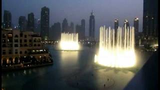 Whitney Houston - I will always love you (Dubai Fountains)