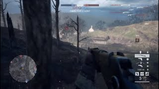 BattleField 1 Russian 1895 Trench, Not on top but dam that kill streak