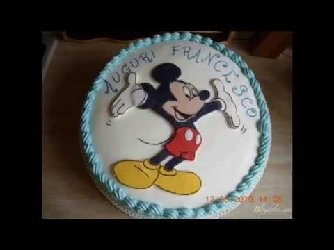 Torte di compleanno decorate con i cartoni animati youtube for Disegni di cartoni animati