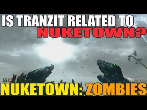 Is Nuketown Related To Tranzit? Was NukeTown BEFORE Tranzit? (Bus From Tranzit on NukeTown?)