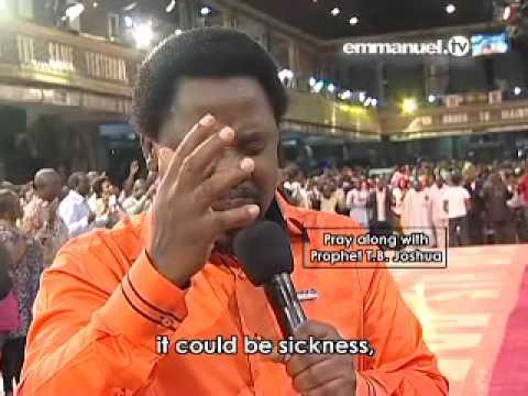 Prayer For Viewers - Tb Joshua video