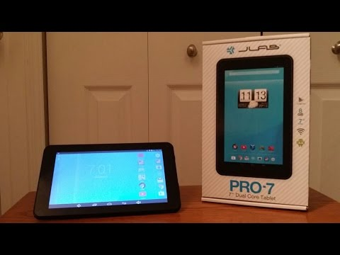 Trio/Jlab 8GB Tablet Review