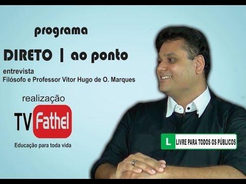 TV FATHEL - Filósofo e Professor Vitor Hugo