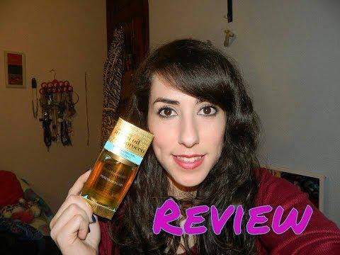 Review aceite de Argán para el pelo seco y sin brillo