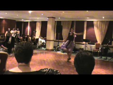 Laura Smith highland choreography Oscars 2010 with Richard Anderson pipi