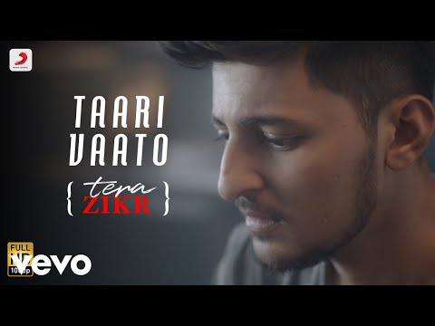 Taari Vaato (Tera Zikr Gujarati Version) - Official Video with Lyrics | Darshan Raval