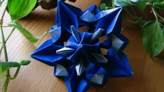 Origami  Xenia  Kusudama