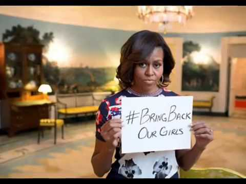 Michelle Obama 'Outraged' Over Nigeria Kidnapped Girls MUST SEE