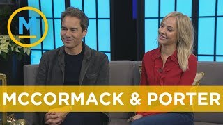Eric McCormack and MacKenzie Porter reveal what fans can expect from the new season of 'Travelers'