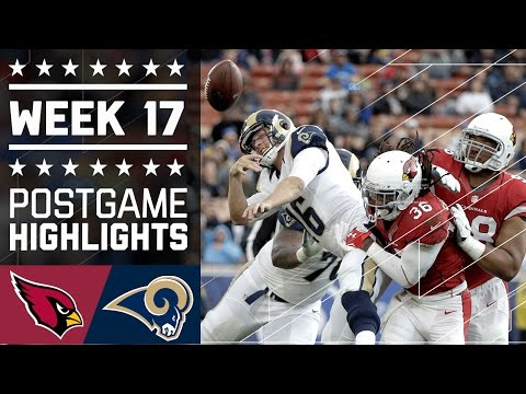 Cardinals Vs Rams Nfl Week 17 Game Highlights