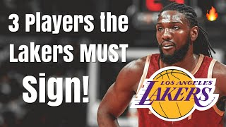 3 Players the Los Angeles Lakers Should SIGN After DeMarcus Cousins ACL Injury | Kenneth Faried!