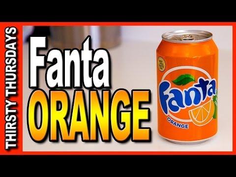 Fanta Orange from Coca Cola in Great Britain - Thirsty Thursdays