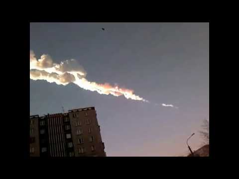 Взрыв в Челябинске метеорит 15.02.2013 нарезка видео