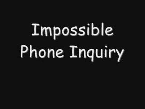 Impossible Phone Inquiry - Funny Prank Call