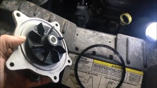 Replace Grand Caravan water pump