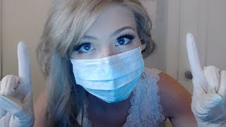 ASMR Face Examination Dr. Tingles~Lens Touching