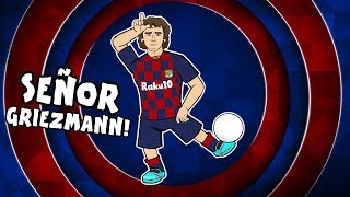 🔴Señor Griezmann!🔵 1st Day at Barcelona for Antoine Griezmann! (Feat. Messi & Neymar)