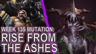 Starcraft II: Rise from Ashes [1 Base Brutal Mutation]