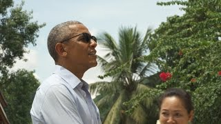 President Obama Reflects on His Historic Visit in Laos