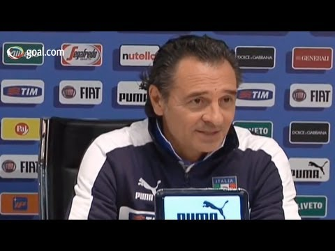 Italy vs Brazil - Cesare Prandelli press conference