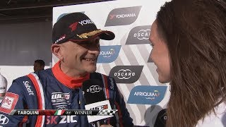 INTERVIEW - Gabriele Tarquini stuns everyone and himself in Race 1