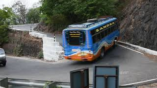 Most Dangerous Hairpin Curve Road | Agumbe Ghat