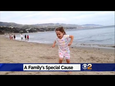 Parents Literally Make Waves To Raise Money For Daughter's Illness