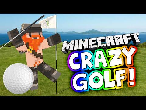 Minecraft PS4 Crazy Golf - Part 1 - Simon's Bleaching