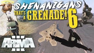 ARMA 3 glitches and funny moments! - THAT'S A GRENADE! (Ep. 6)