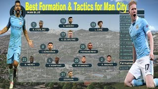 PES 2019 - Best Formation Tactics for Manchester City