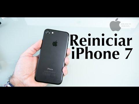 Cómo reiniciar de modo forzado un iPhone 7 bloqueado