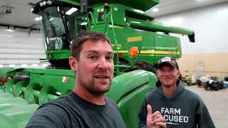 We Added 100 Horsepower to our John Deere Combine!!