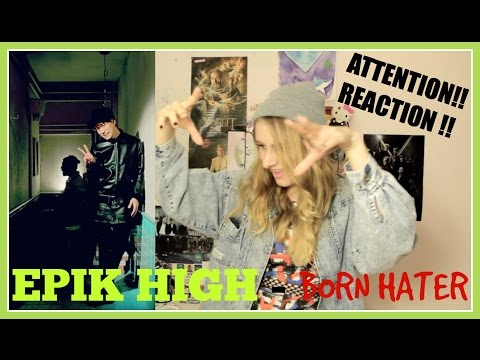 Kpop MV REACTION: EPIK HIGH - BORN HATER ! / Реакция на клип !