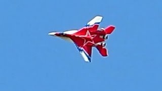 Mig 29 RC EDF Jet with Vector Thrust Control , Flight Demonstration *HD*