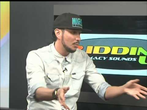 MILLION STYLES  INTERVIEW ON RIDDIM UP LIVE- KENYA