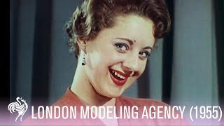 Model Agency in London (1955) - Great 1950s Fashions!