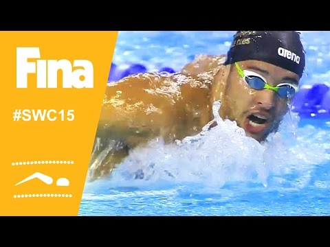 Swimming stars show power in the Doha leg of the Swimming World Cup