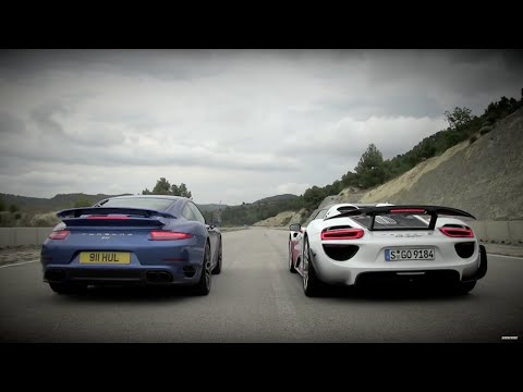 Porsche 911 vs 918 – Speed Week 2014: TopGear Magazine