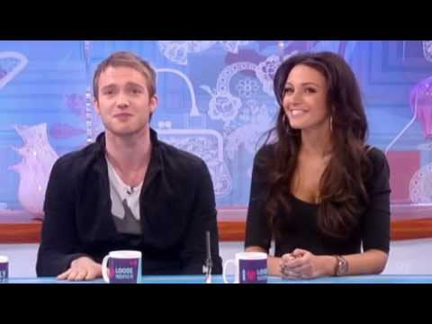 Loose Women - Michelle Keegan and Chris Fountain 2/2/2012