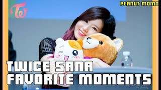 TWICE SANA - FAVORITE MOMENTS