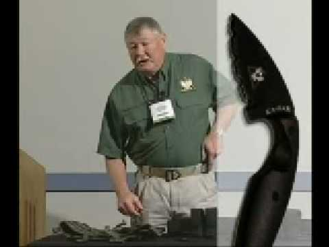 Ka-Bar TDI Knife Demo by John Benner of Tactical Defense Institute