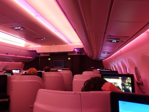 Qatar Airways A350 Doha to Adelaide Business Class